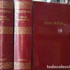 Libros de segunda mano: OBRAS COMPLETAS. 2 TOMOS. A-AGUI-855. Lote 128702999