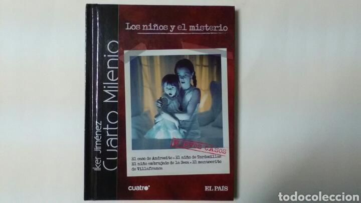 CUARTO MILENIO Los niños y el misterio .Iker Jiménez .Cuatro .El País . CD