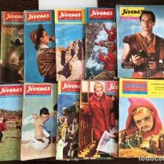 Libros de segunda mano: LIBROS REVISTA MENSUAL DE LA JUVENTUD JÓVENES AÑO 1961 1959 BEN HUR ECT . Lote 128764363