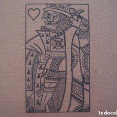 Libros de segunda mano: LIBRERIA GHOTICA. RARO PLAYING CARDS.HISTORY OF THE PACK AND EXPLANATIONS OF ITS MANY SECRETS.1940. Lote 128769819