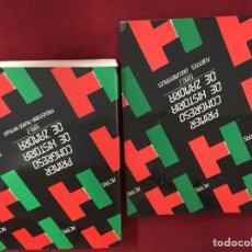 Libros de segunda mano: ACTAS PRIMER CONGRESO DE HISTORIA DE ZAMORA TOMOS 1 Y 2. Lote 128778607