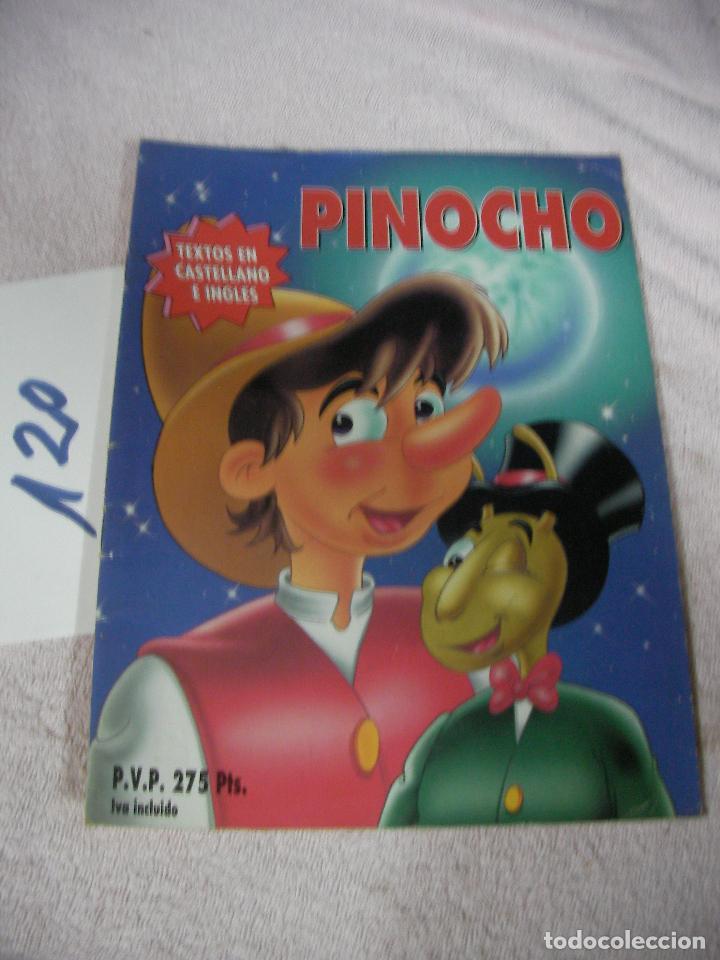 PINOCHO (TEXTO EN CASTELLANO E INGLES) - ENVIO INCLUIDO A ESPAÑA (Libros de Segunda Mano - Literatura Infantil y Juvenil - Otros)