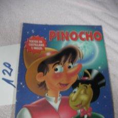 Libros de segunda mano: PINOCHO (TEXTO EN CASTELLANO E INGLES) - ENVIO INCLUIDO A ESPAÑA. Lote 128809107