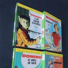 Libros de segunda mano: DOMINO / SUZANNE PAIRAULT / 4 LIBROS JUVENILES ( SERIE COMPLETA 1 AL 4 ) ED. FHER AÑO 1972 / SIN USO. Lote 128825583