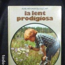 Libros de segunda mano: LA LENT PRODIGIOSA - LIBRO EN CATALÀ DE ASTRID BERGMAN - MARTINEZ ROCA 1976 - FOTOS COLOR TAPA DURA . Lote 128830187