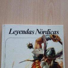 Libros de segunda mano: LEYENDAS NORDICAS. EDICIONES AFHA COLECCIÓN NUEVO AURIGA 1974 SIN USO. Lote 128837115
