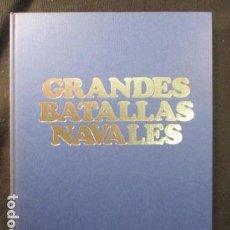 Libros de segunda mano: LIBRO GRANDES BATALLAS NAVALES . Lote 128856295