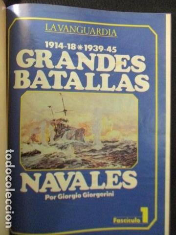 Libros de segunda mano: LIBRO GRANDES BATALLAS NAVALES - Foto 4 - 128856295