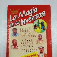 Libros de segunda mano: LA MAGIA DE LOS INVENTOS. Nº 8. LOS NUMEROS. SALVAT. TDK305. Lote 128976951