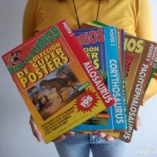Libros de segunda mano: TUBAL 12 SUPER POSTERS DINOSAURIOS PLANETA COLECCION NUNCA ANTES COMPLETA EN TC PERFECTO ESTADO. Lote 129062767