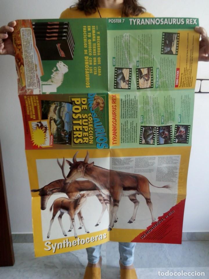 Libros de segunda mano: TUBAL 12 SUPER POSTERS DINOSAURIOS PLANETA COLECCION NUNCA ANTES COMPLETA EN TC PERFECTO ESTADO - Foto 6 - 129062767