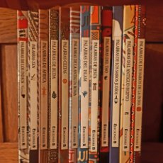 Libros de segunda mano: COLECCIÓN 12 LIBROS: PALABRAS...CELTAS, DE BUDA, DEL ISLAM, TAO, ZEN Y 7 MÁS...EDICIONES B. VV. AA.. Lote 129081914