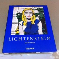 Libros de segunda mano: JANIS HENDRICKSON. LICHTENSTEIN. ED. TASCHEN, 2005. Lote 129171523