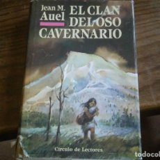 Libros de segunda mano: ¡¡EL CLAN,DEL OSO,CAVERNARIO¡¡. Lote 129181563