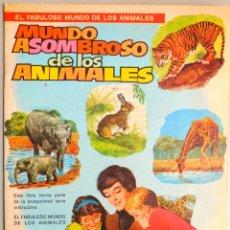 Libros de segunda mano: MUNDO ASOMBROSO DE LOS ANIMALES, Nº 5 SERIE EL FABULOSO MUNDO DE LOS A...- ED. VASCO AMERICANA, 1972. Lote 129222655