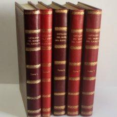 Libros de segunda mano: CATÁLOGO DEL MUSEO DEL EJÉRCITO. - MADRID, 1952-58.. Lote 113748315