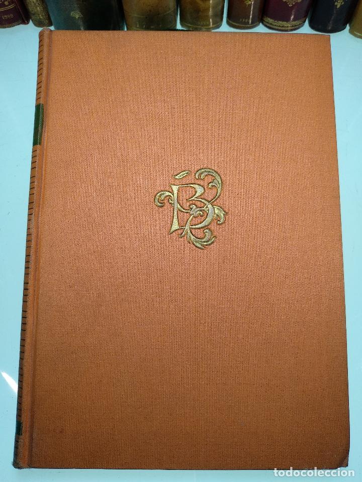 Libros de segunda mano: RETRATOS IMAGINARIOS - WALTER PATER - GRABADOS EN BOJ DE MANUEL BENET - EDIC. AYMA - BARCELONA -1942 - Foto 2 - 129255531