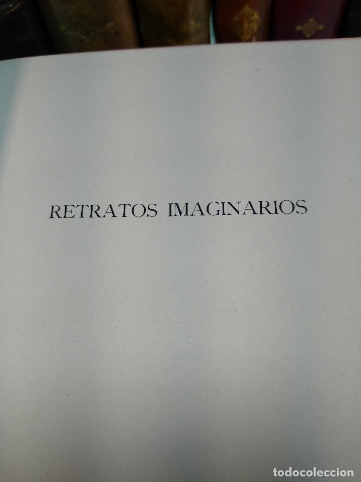 Libros de segunda mano: RETRATOS IMAGINARIOS - WALTER PATER - GRABADOS EN BOJ DE MANUEL BENET - EDIC. AYMA - BARCELONA -1942 - Foto 3 - 129255531