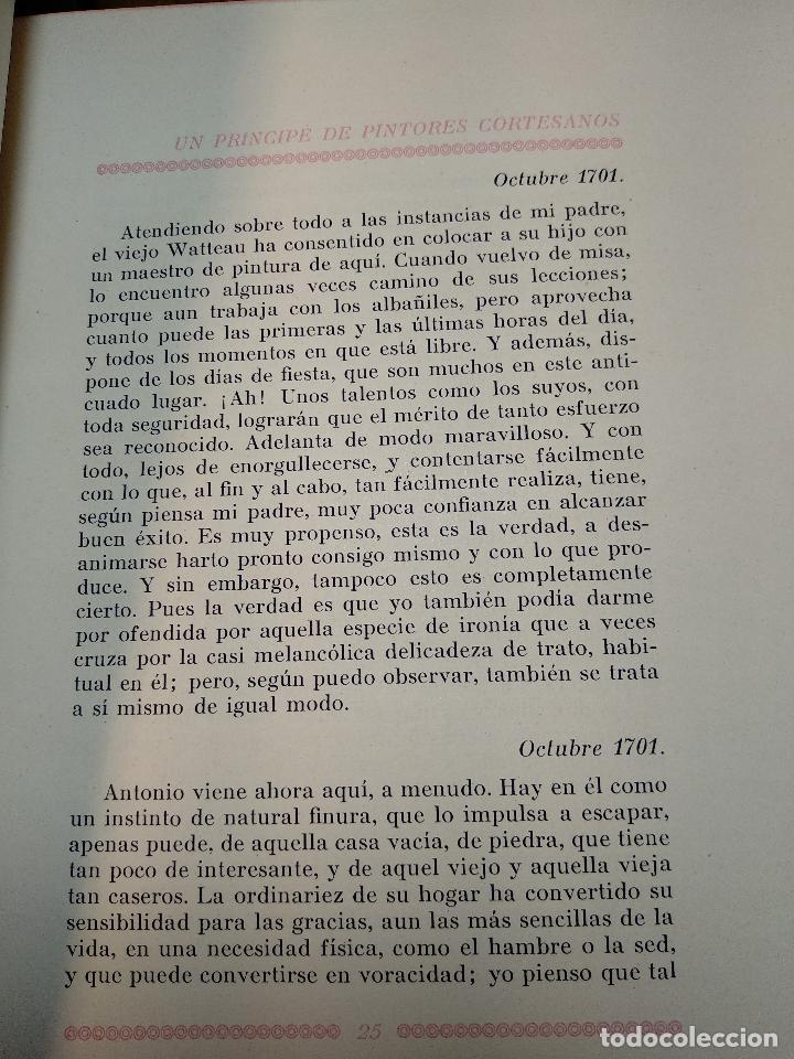 Libros de segunda mano: RETRATOS IMAGINARIOS - WALTER PATER - GRABADOS EN BOJ DE MANUEL BENET - EDIC. AYMA - BARCELONA -1942 - Foto 7 - 129255531