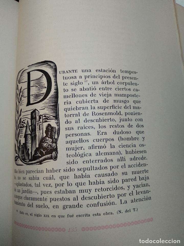 Libros de segunda mano: RETRATOS IMAGINARIOS - WALTER PATER - GRABADOS EN BOJ DE MANUEL BENET - EDIC. AYMA - BARCELONA -1942 - Foto 11 - 129255531