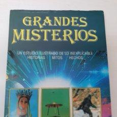 Libros de segunda mano: LIBRO GRANDES MISTERIOS. Lote 129285556