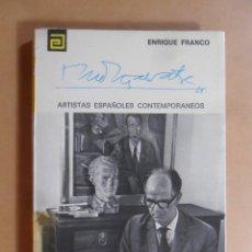 Libros de segunda mano: Nº 102 - ARTISTAS ESPAÑOLES CONTEMPORANEOS - MONTSALVATGE - AUT. ENRIQUE FRANCO - 1975. Lote 129290247