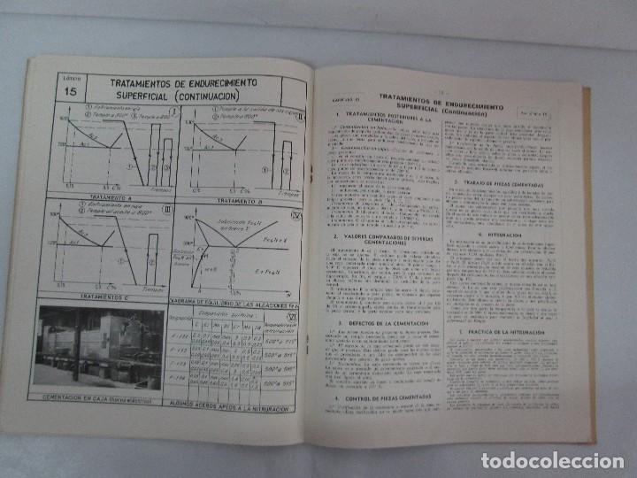 Libros de segunda mano: TECNOLOGIA DE LAS FABRICACIONES MECANICAS. A. CHEVALIER. EDICIONES TEA. FASCISCULO Nº 4-9-20. - Foto 14 - 129300063