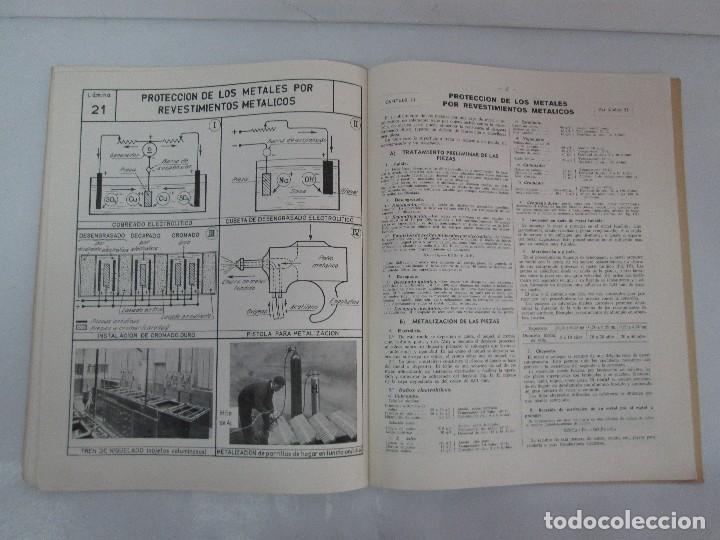Libros de segunda mano: TECNOLOGIA DE LAS FABRICACIONES MECANICAS. A. CHEVALIER. EDICIONES TEA. FASCISCULO Nº 4-9-20. - Foto 16 - 129300063