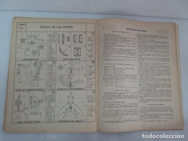 Libros de segunda mano: TECNOLOGIA DE LAS FABRICACIONES MECANICAS. A. CHEVALIER. EDICIONES TEA. FASCISCULO Nº 4-9-20. - Foto 27 - 129300063