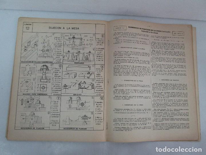Libros de segunda mano: TECNOLOGIA DE LAS FABRICACIONES MECANICAS. A. CHEVALIER. EDICIONES TEA. FASCISCULO Nº 4-9-20. - Foto 28 - 129300063