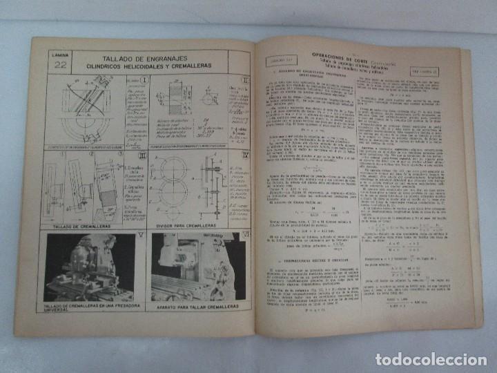 Libros de segunda mano: TECNOLOGIA DE LAS FABRICACIONES MECANICAS. A. CHEVALIER. EDICIONES TEA. FASCISCULO Nº 4-9-20. - Foto 30 - 129300063