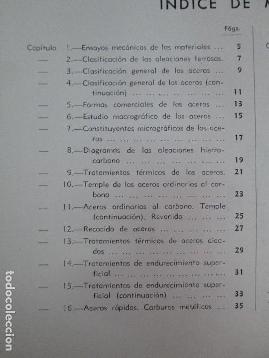 Libros de segunda mano: TECNOLOGIA DE LAS FABRICACIONES MECANICAS. A. CHEVALIER. EDICIONES TEA. FASCISCULO Nº 4-9-20. - Foto 9 - 129300063