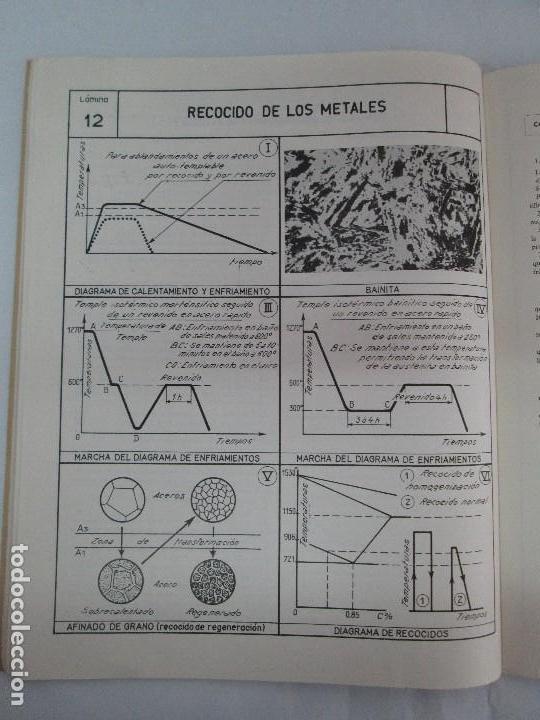 Libros de segunda mano: TECNOLOGIA DE LAS FABRICACIONES MECANICAS. A. CHEVALIER. EDICIONES TEA. FASCISCULO Nº 4-9-20. - Foto 13 - 129300063