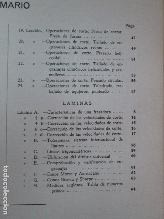 Libros de segunda mano: TECNOLOGIA DE LAS FABRICACIONES MECANICAS. A. CHEVALIER. EDICIONES TEA. FASCISCULO Nº 4-9-20. - Foto 23 - 129300063