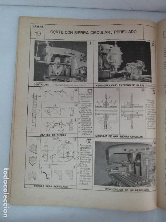 Libros de segunda mano: TECNOLOGIA DE LAS FABRICACIONES MECANICAS. A. CHEVALIER. EDICIONES TEA. FASCISCULO Nº 4-9-20. - Foto 29 - 129300063