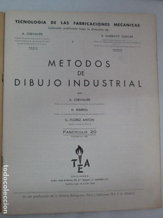 Libros de segunda mano: TECNOLOGIA DE LAS FABRICACIONES MECANICAS. A. CHEVALIER. EDICIONES TEA. FASCISCULO Nº 4-9-20. - Foto 35 - 129300063