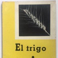 Libros de segunda mano: EL TRIGO - SERVICIO DE EXTENSIÓN AGRARIA - MINISTERIO DE AGRICULTURA - MADRID 1959. Lote 129316734