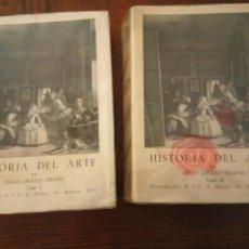 Libros de segunda mano: HISTORIA DEL ARTE. DIEGO ANGULO IÑIGUEZ. 2 TOMOS.. Lote 129320411