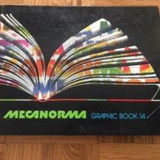 Libros de segunda mano: MECANORMA GRAPHIC BOOK 14 LIBRO DE DISEÑO GRAFICO. Lote 129408372