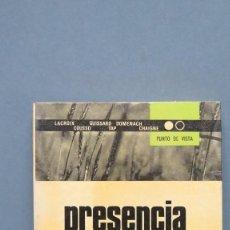 Libros de segunda mano: PRESENCIA DE MOUNIER. VV.AA. Lote 129496023