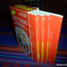 Libros de segunda mano: MUY RARO ESTUCHE ELIGE TU PROPIA AVENTURA CON 4 LIBROS NºS 29 30 31 32. TIMUN MAS 1986. BUEN ESTADO.. Lote 129501855