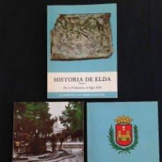 Libros de segunda mano - Alicante - Historia de Elda Tomos 1 2 y 3 - Alberto Navarro Pastor - 129521015