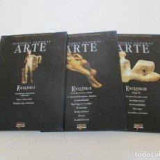 Libros de segunda mano: HISTORIA GENERAL DEL ARTE. ARQUITECTURA. ESCULTURA. PINTURA. .... TRES TOMOS. RMT87274.. Lote 129541555