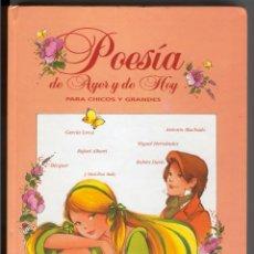 Libros de segunda mano: POESÍA DE AYER Y DE HOY MARÍA PASCUAL - FOTOS ADICIONALES. Lote 129563163