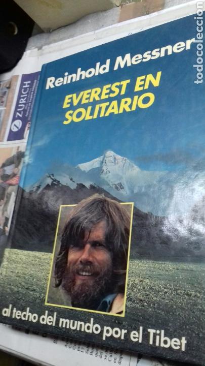 EVEREST EN SOLITARIO.REINHOLD MESSNER.1983 (Libros de Segunda Mano - Ciencias, Manuales y Oficios - Otros)