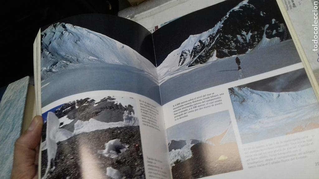 Libros de segunda mano: Everest en solitario.Reinhold Messner.1983 - Foto 3 - 146042070