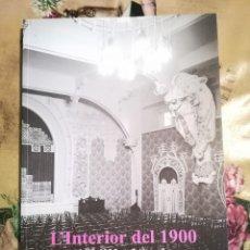 Libros de segunda mano: L'INTERIOR DEL 1900. ADOLF MAS, FOTÒGRAF - JOSEP CASAMARTINA I PARASSOLS - 2002. Lote 129656295