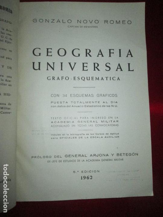 Libros de segunda mano: LIBRO-GEOGRAFÍA UNIVERSAL-GRAFO ESQUEMÁTICA-1962-5ªEDICIÓN-GONZALO NOVO ROMEO-VER FOTOS - Foto 6 - 129665551