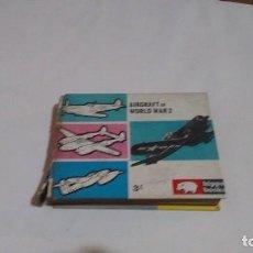 Libros de segunda mano: AIRCRAFT OF WORLD WAR 2 - HIPPO BOOKS. Lote 129671995