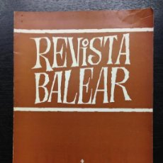 Libros de segunda mano: REVISTA BALEAR, AÑO III N. 6, 1967. Lote 129690007